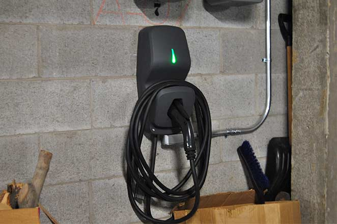 FLO G5 installed at a condo after learning how to add electric vehicle charging with murbly.com