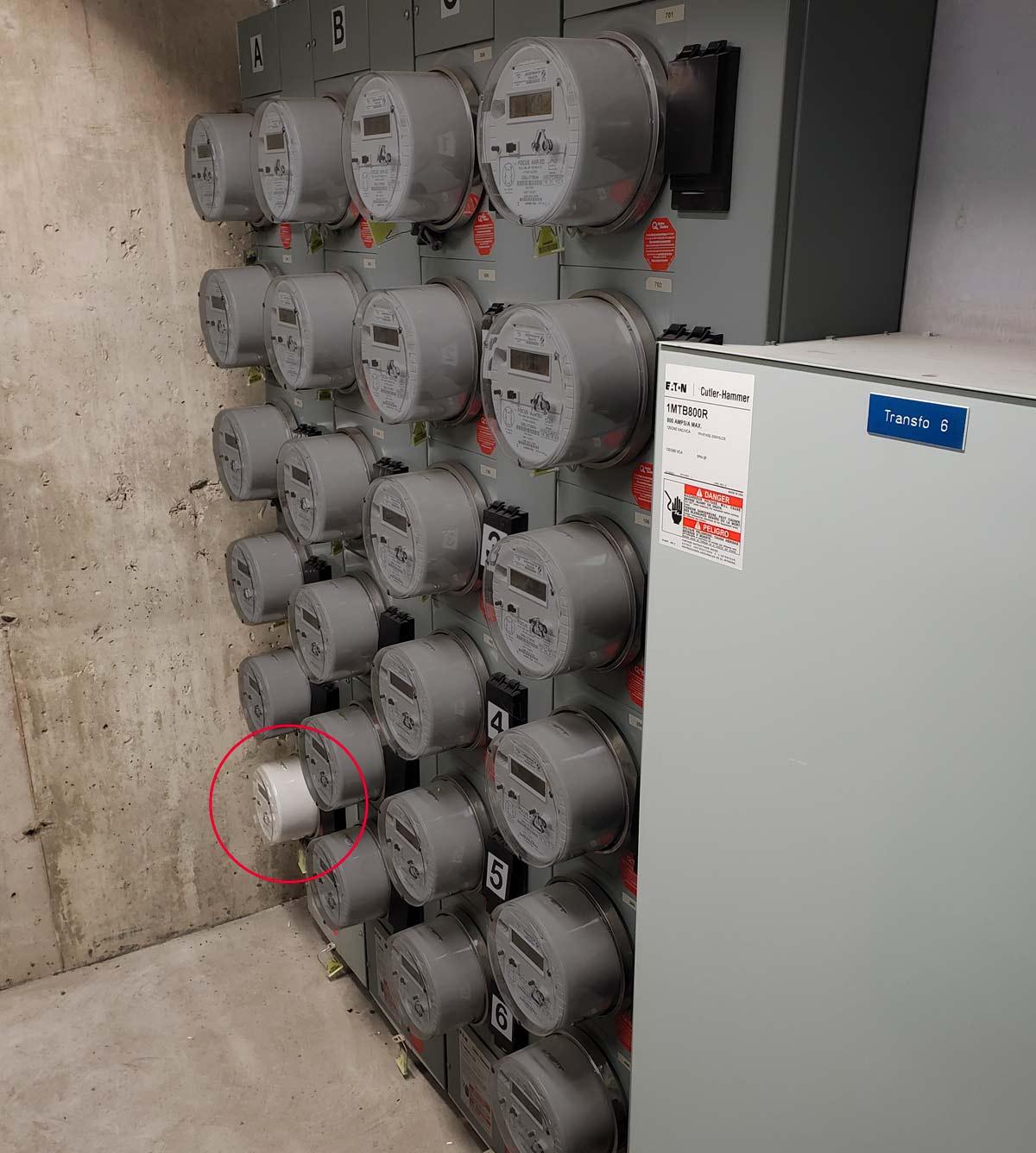 Installation de bornes de recharge au complexe Urbania   EVEMS Installation at The Urbania